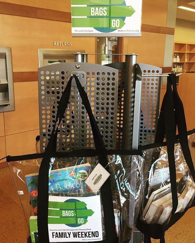 Bags To Go Are New In Our Lobby Today