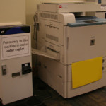 Photo of copy machine