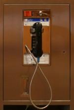 Photo of public telephone