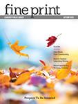 Fine Print Autumn 2020 Cover Icon