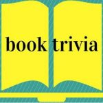 Open book with words book trivia on pages