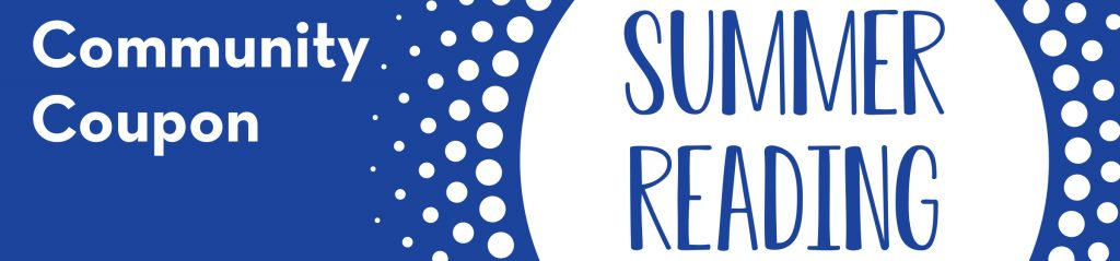 Summer Reading Community Coupon