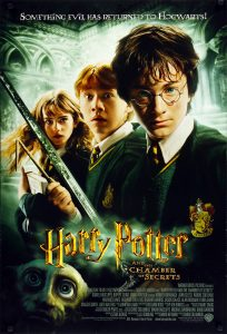 Harry Potter & the chamber of secrets movie poster