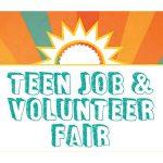 Teen job-volunteer fair