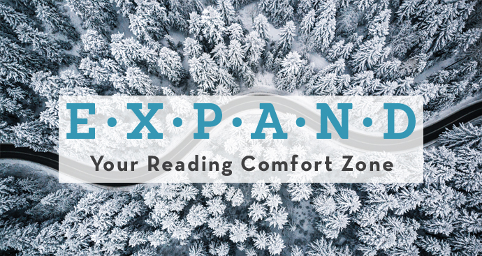 Expand your reading comfort zone