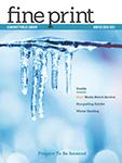 Fine Print Winter 2020-2021 Cover Icon