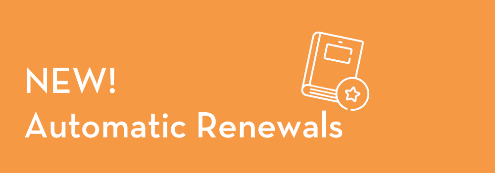 New Automatic Renewals