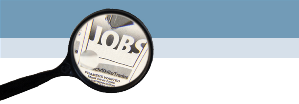newspaper ad featuring jobs