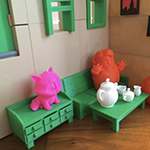 dollhouse furniture 3d printed