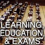 Learning Education and Exams
