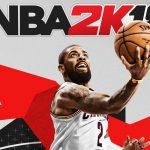 NBA2K18 logo and basketball player