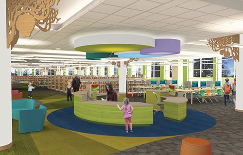 new kids library desk