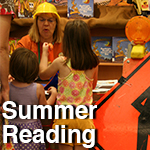 summer reading tile
