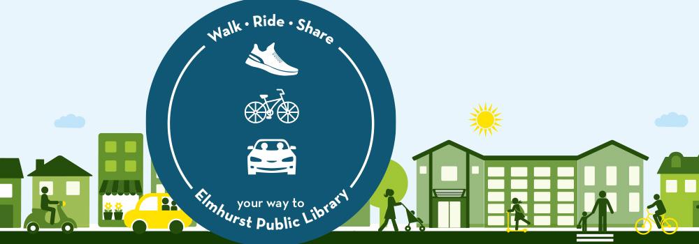 walk ride share logo