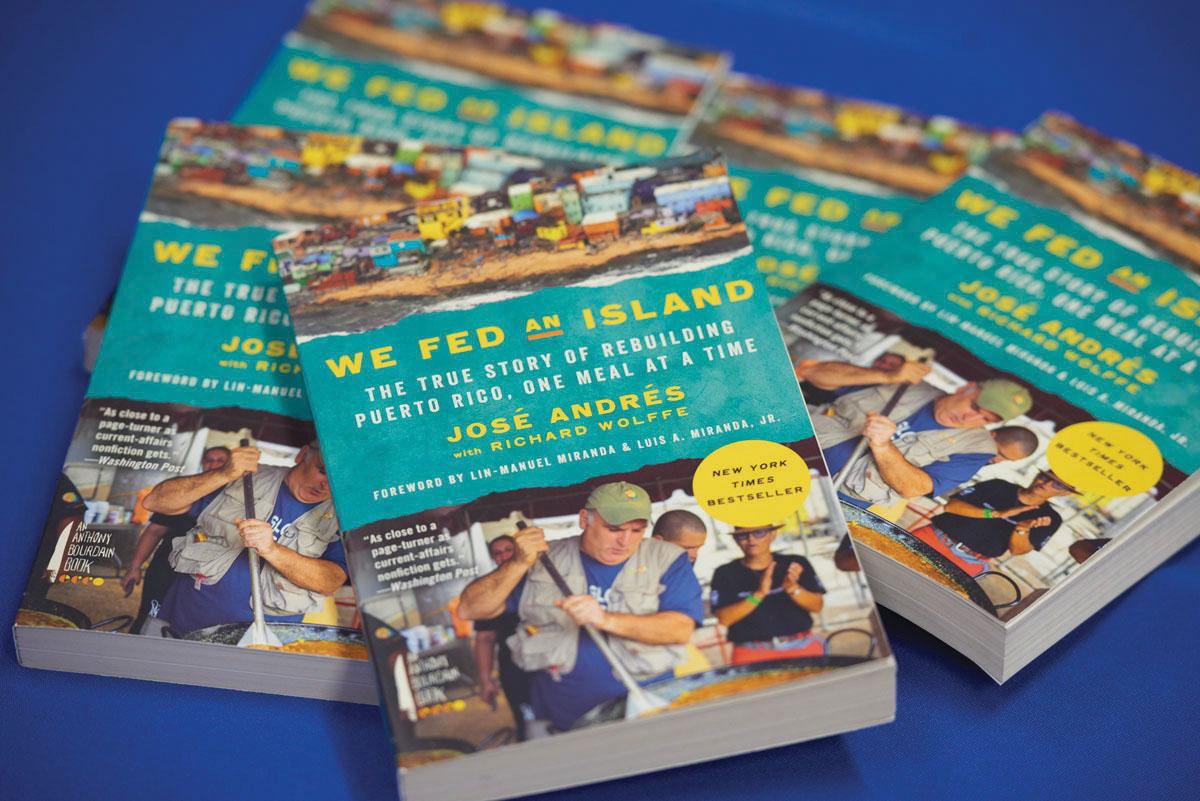 We fed an island books