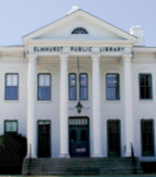 Wilder Mansion as the Elmhurst Public Library