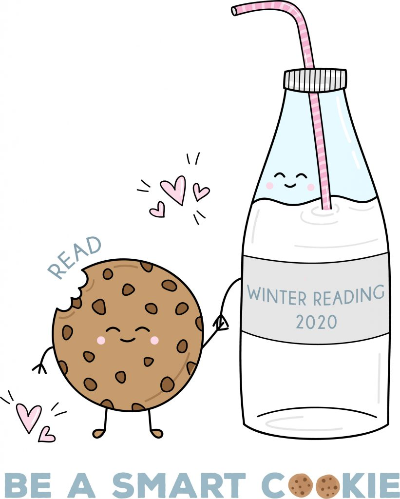 be a smart cookie read winter reading program for kids